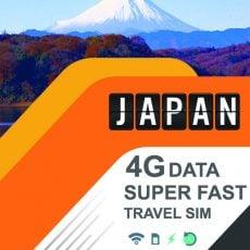 japan travel sim data prepaid 4g fast