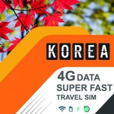 best travel sim korea data prepaid card